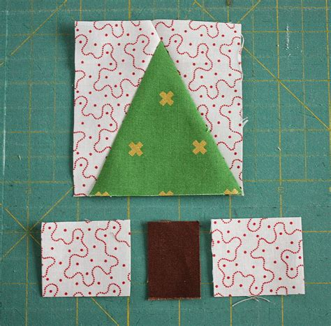 Patchwork Tree - patchwork tree quilt block tutorial diary of a quilter