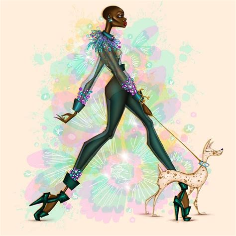 fashion illustration nigeria papa oppong is the fashion illustrator to out for