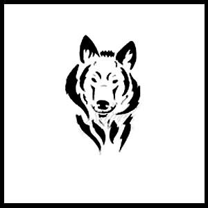 free wolf tattoo designs simple wolf free design