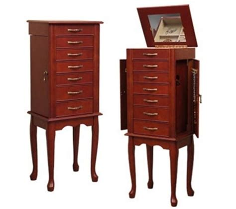 jewelry armoire with lock and key jewelry armoire with lock and key brechin free standing