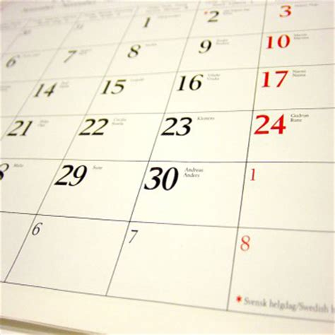 California Legislative Calendar Key Dates
