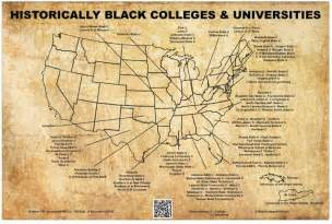 map of colleges in hbcu map