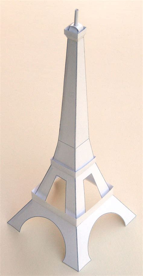 How To Make A Paper Tower - about the eiffel tower