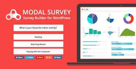 modal survey v1 9 8 4 wordpress poll survey quiz