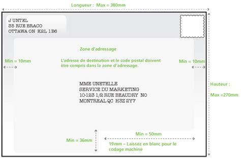 Présentation Lettre Adresse Postes Canada Adressage