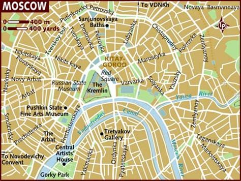 moscow map map of moscow