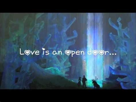 Song Let Open The Door by 18 Best Images About Frozen Song Lyrics On