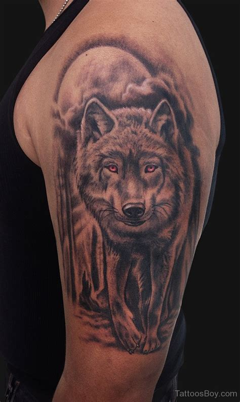 wolf sleeve tattoo designs wolf tattoos designs pictures page 4
