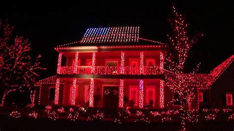 patriotic christmas lights patriotic light display in tallahassee fl