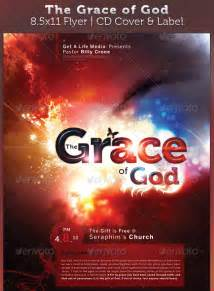 Download the grace of god full page flyer and cd cover
