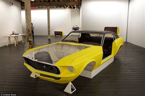 How To Make A Car Out Of Paper - the size replica 1969 mustang car made from paper