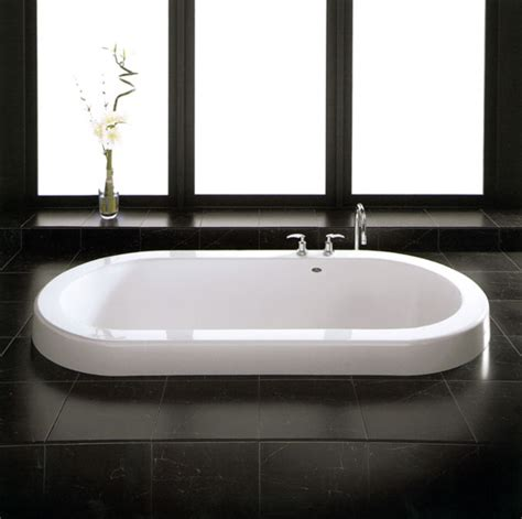 drop in soaking bathtubs neptune zen 36in x 72in oval soaking drop in bathtub