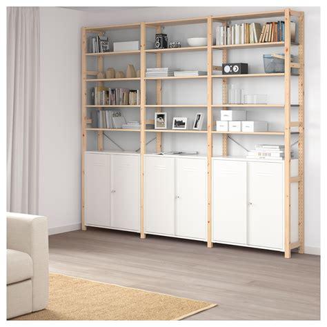 ikea ivar cabinets ivar cabinet with doors white 80x83 cm ikea