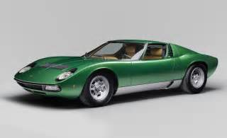 Gorgeous 1971 lamborghini miura sv restored by polostorico news