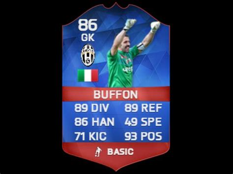 reset online record fifa 16 fifa 16 record breaker buffon 86 in depth review w