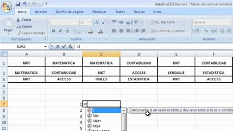 Tabla De Frecuencia Variable Cualitativa Con Excel Youtube | tabla de frecuencia variable cualitativa con excel youtube