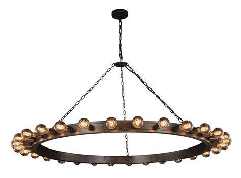 Modern Iron Chandeliers Classic 1500g65ai Winston Contemporary Aged Iron 65 Quot Chandelier L Urb 1500g65ai