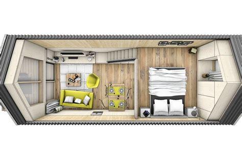 Tiny House Plans On Trailer by Dise 241 O De Casa Prefabricada Con Planos Construye Hogar