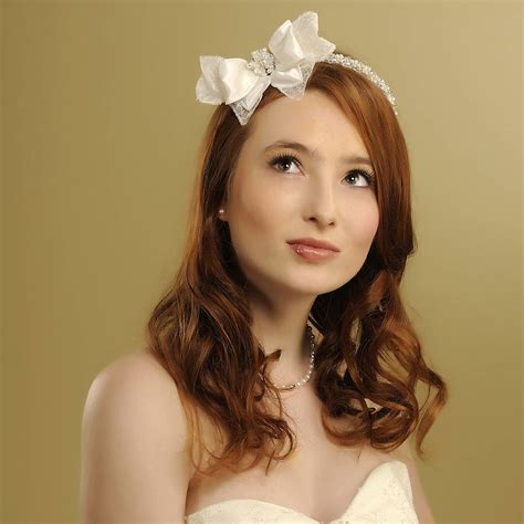 Handmade Wedding Headpieces - handmade wedding headpiece by rosie willett designs