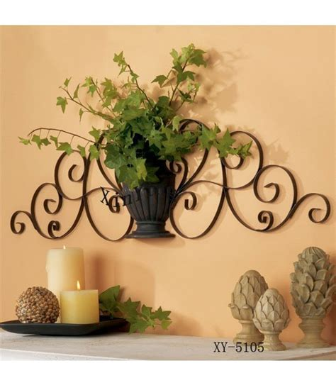 Home Decor Metal Wall by Home Decor Metal Wall Decor Iron Plant Holder Iron Wall
