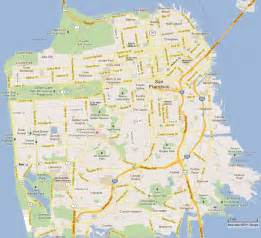 map of san francisco california san francisco map