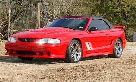 1997 mustang saleen 1997 saleen s281 ford mustang convertible