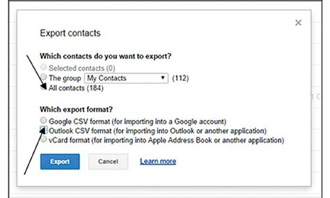 csv format for yahoo contact import how to import contacts from gmail to microsoft outlook