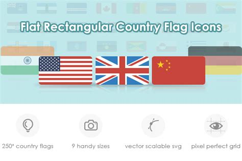 flags of the world not rectangular flat rectangular world flag icon set icons on creative