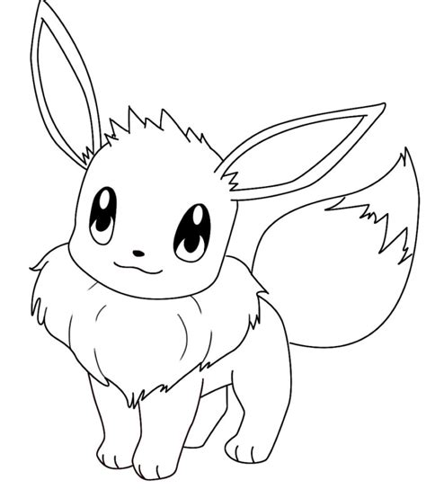pokemon eevee outline pokemon images pokemon images