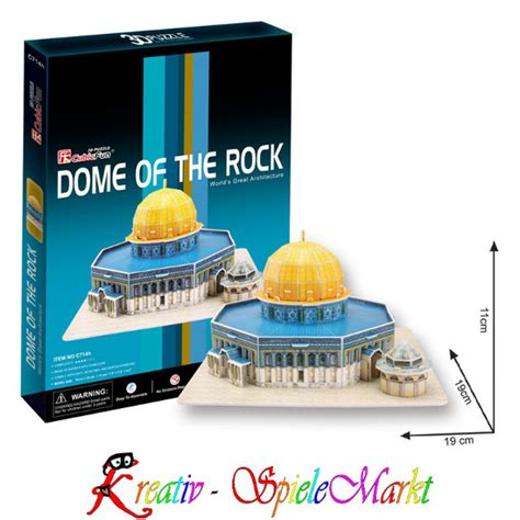Best Seller Cubic Puzzle 3d The Dome Of The Rock Large Size cubic 3d puzzle dome of the rock felsendom jerusalem