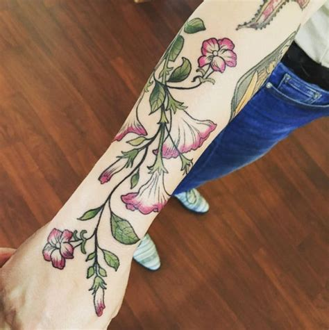 watercolor vine tattoos top 25 best morning ideas on