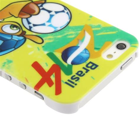Ultra Slim Plastic Protective World Cup Brazil 2014 Iphone 55s ultra slim plastic protective world cup brazil 2014 for iphone 5 5s yellow