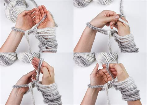 how to start knitting a scarf learn to knit an infinity scarf in 20 minutes stockland