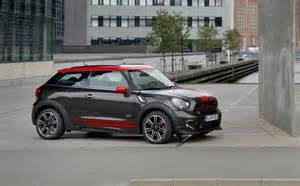 2015 mini cooper works countryman and paceman revealed