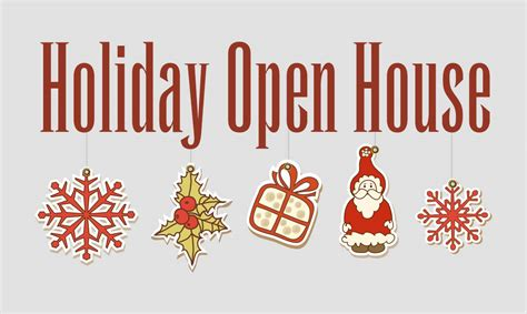 holiday open house bookstore times