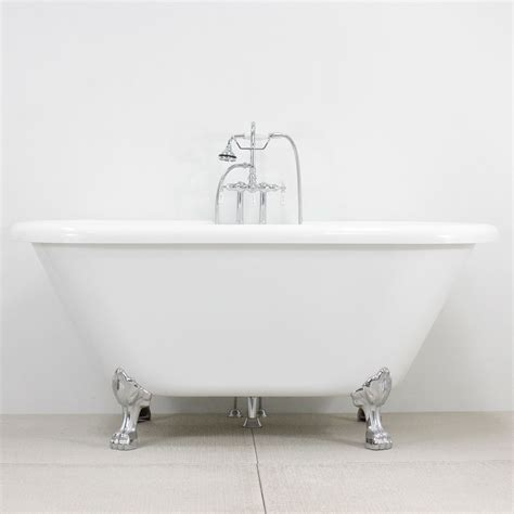 clawfoot bathtub fixtures hldbl679fpk 67 quot hotel collection double ended clawfoot tub