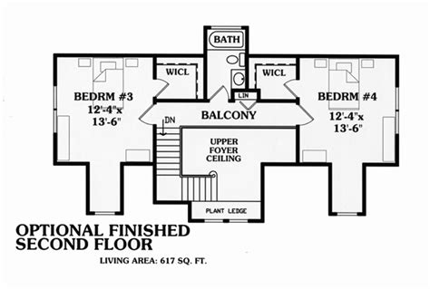 cape cod 2nd floor plans house plan 79517 at familyhomeplans com