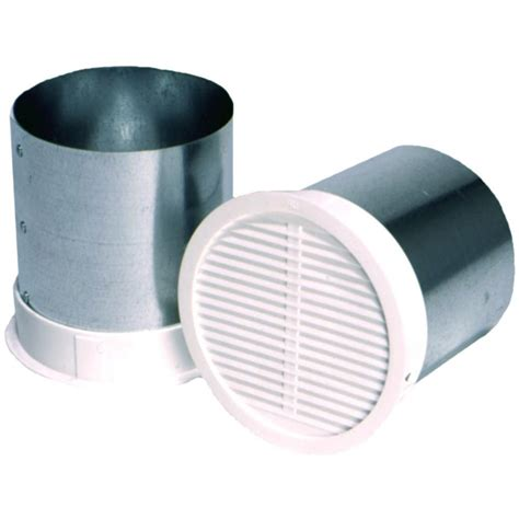 exterior bathroom exhaust vent covers 4 in eave vent for bath exhaust bfev4 the home depot