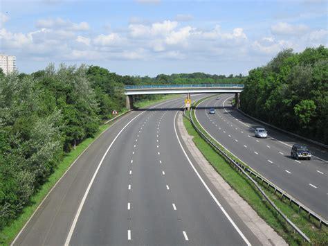 file m57 motorway northbound from knowsley bridge