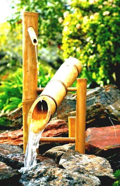 imagenes de jardines imagenes de lindas fuentes de bambu