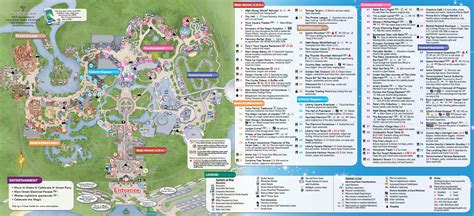 printable disney world maps 8 best images of 2014 disney world maps printable walt