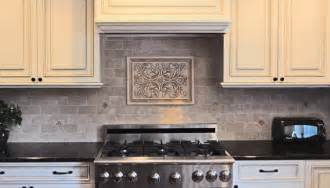 Tile Medallions For Kitchen Backsplash by Backsplash Medallions