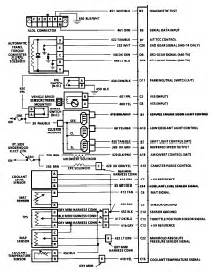 1990 pontiac grand prix 3 1l wiring diagram for ecm pin out and connectors