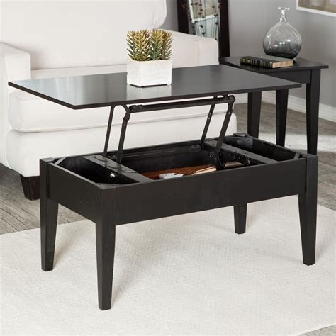 Lift Top Coffee Table Black Turner Lift Top Coffee Table Black Coffee Tables At Hayneedle
