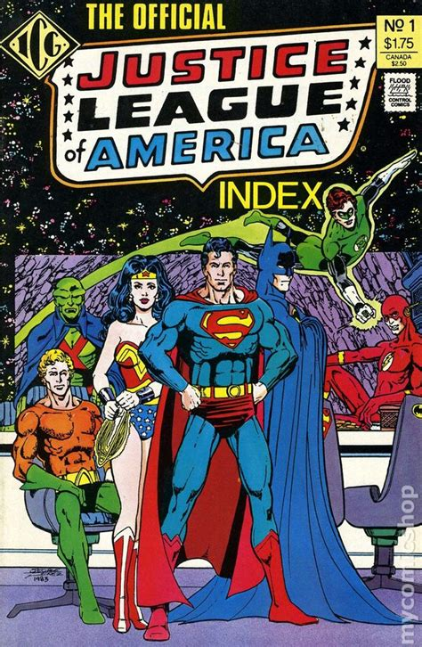 justice league the of the books official justice league of america index 1986 comic books