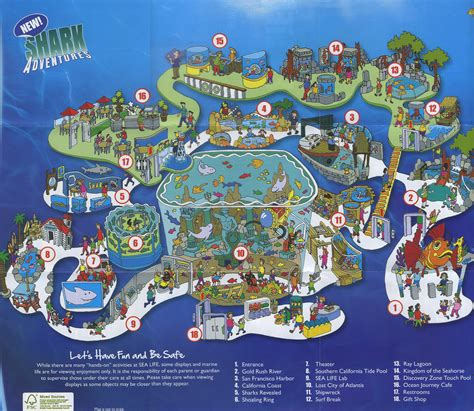 aquaria resort map theme park brochures sea aquarium theme park brochures