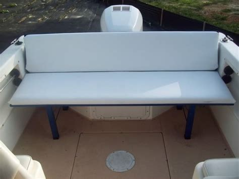 fishing boat bench seats anyone add seating to a walkaround page 1 iboats