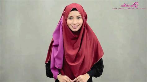 tutorial pashmina crepe tutorial wide shawl elza crepe shawl style ii by