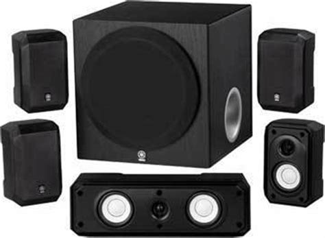 review of yamaha ns sp1800bl 5 1 channel home theater
