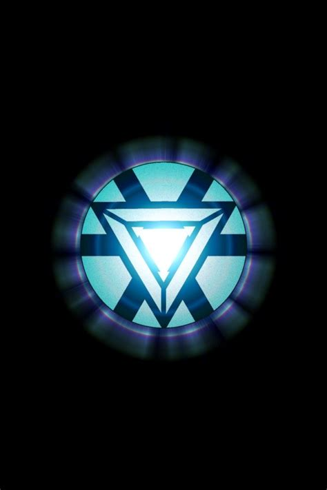 iron man arc reactor comic book characters pinterest